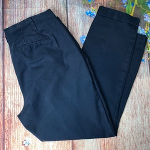 BODEN Navy Cuffed Trousers Flat Front Size 14R
